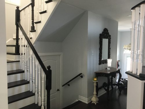 Paint Stain Stair