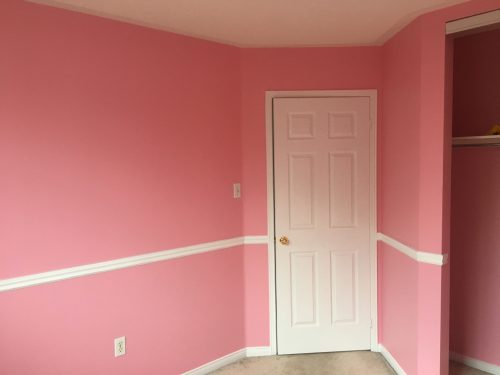pink room for kid in brampton
