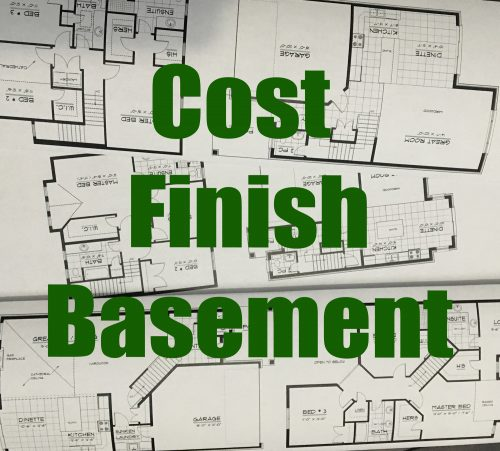 Cost Finish Basement Labour And Material Know Cost Within