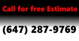 Call (647) 287-9769 for free esimate