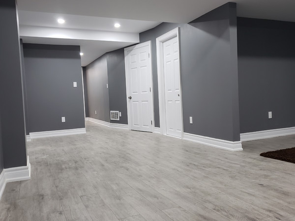 Finishing Basement