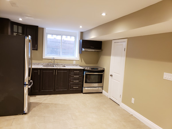 Finishing Basement in Brampton