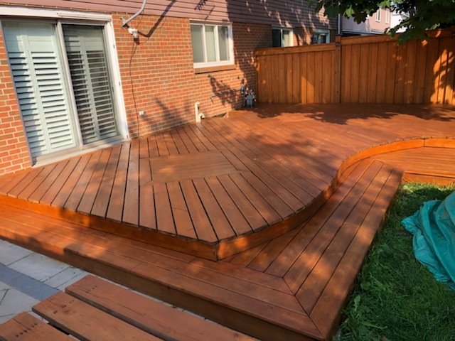 Deck Painting and Fence Painting
