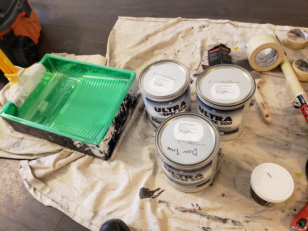 Condo Painting at Eastwood Park Gardens Etobicoke