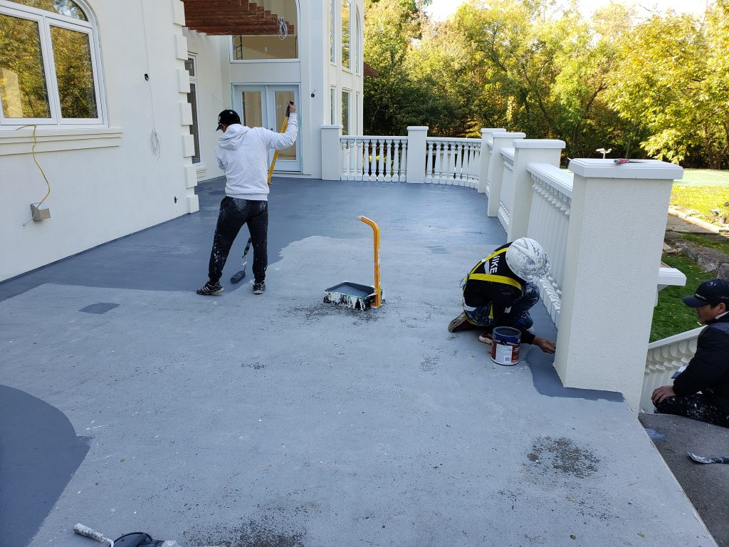 Exterior house painting Mississauga