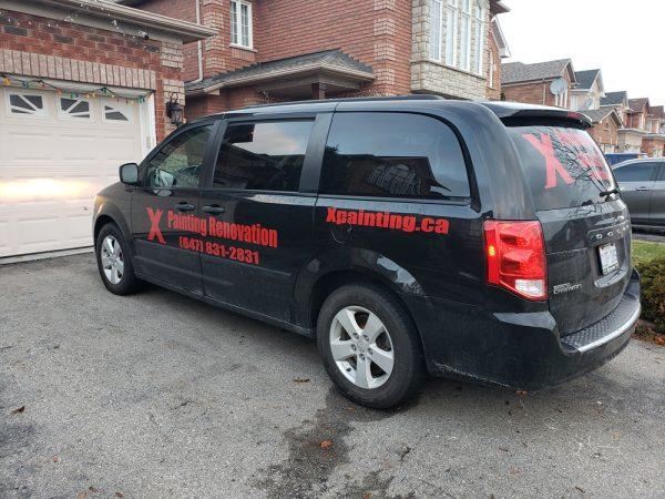 X Painting Mississauga Vehicle